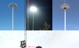240W High Pole Light project in China