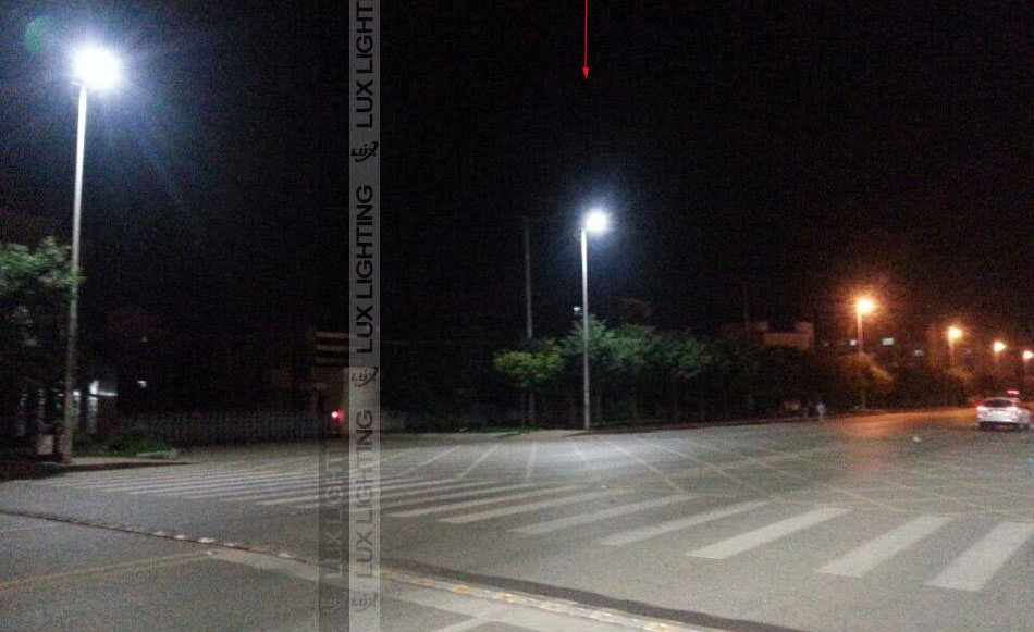 120w/180w Dolphin led street light project in china