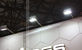 led indoor flood light project in China