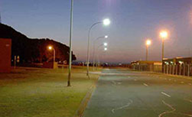 Elegant series used in street lighting Project Case Australia