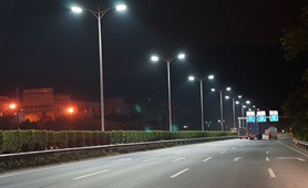 Elegance series of street lamps lighting project in China