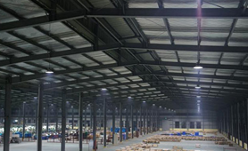 LED High Bay Light warehouse lighting project