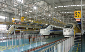 China high-speed rail station lighting projects