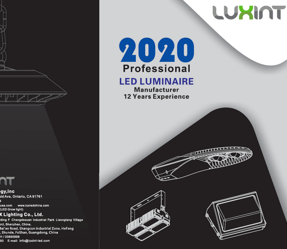 LUX LIGHTING CATALOGUE 2019